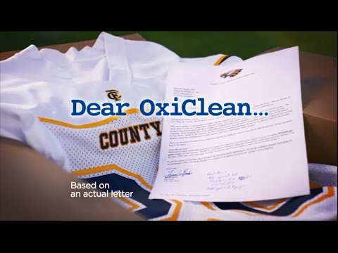 Dear OxiClean: You Help Us Look and Feel like Champions