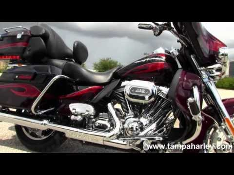 Used 2013 Harley Davidson CVO Ultra Classic Screamin' Eagle Motorcycle for Sale
