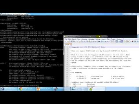 Host Multiple Web Sites with One Physical Server - Virtual Hosting with Apache Updated