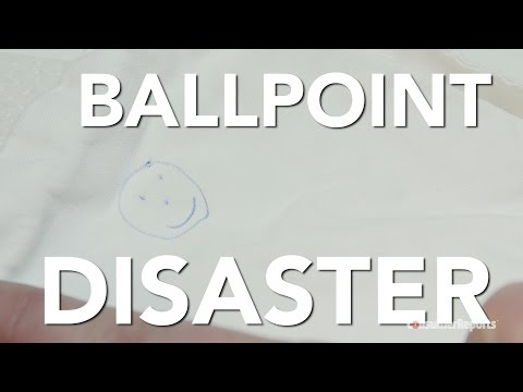 Stain Secrets #4: How to Remove Ballpoint Ink | Consumer Reports