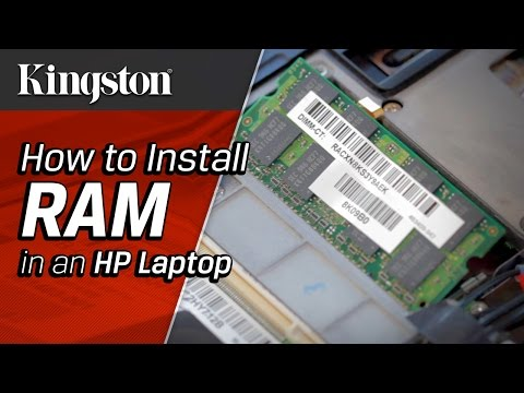 How to Install RAM in HP Laptop - Kingston Technology