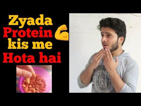 Jyada Protein Kisme Hota hai Hindi 2018   Protein ke sources Hindi