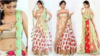 4 Easy Dupatta Settings for Brides/Weddings - How to Wear Lehenga Perfectly | #Fashion #Tips #Anaysa