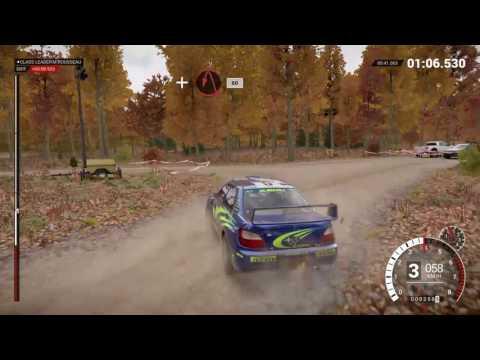 DiRT 4 gameplay Rally Subaru Impreza 2001