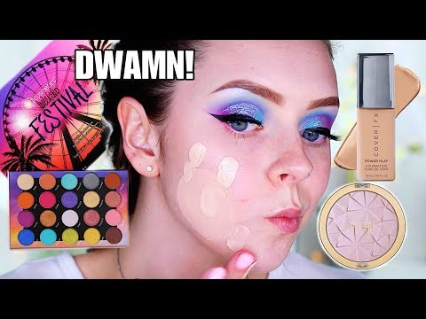 FULL FACE FIRST IMPRESSIONS! BH Cosmetics Festival Collection