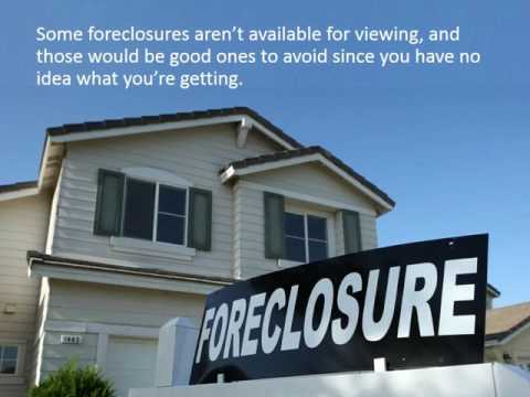 3 Tips for Buying a Foreclosure