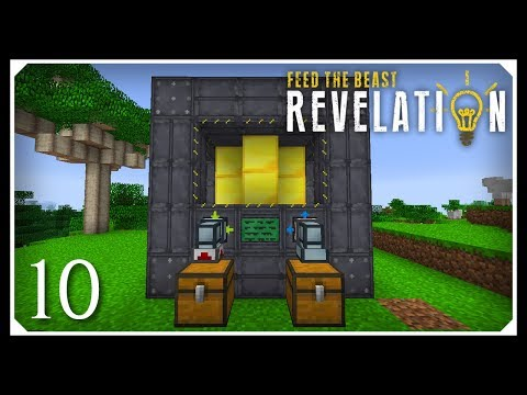 How To Play FTB Revelation | Small Extreme Reactor! | E10 Modded Minecraft For Beginners