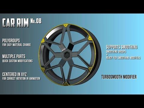 3D model: CarRim (v.08) for purchase
