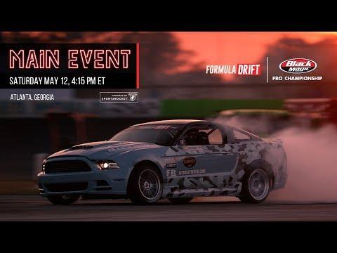Formula Drift Atlanta - Main Event LIVE!