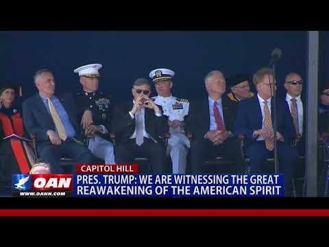 Pres. Trump Honors U.S. Naval Academy Graduates