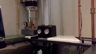 Oplevering OkoFen Smart XS bij Domein Installatie te Rouveen. HR condenserende pelletketel