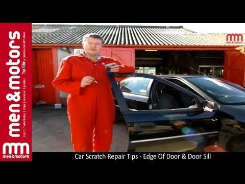 Car Scratch Repair Tips - Edge Of Door & Door Sill