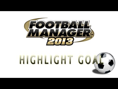 Football Manager 2013: West Brom vs Leyton Orient - Eto'o Goal 79 minutes