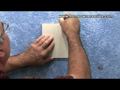 How to Fix Drywall - Lath Strip Patch - Drywall Repair - Part 1 of 2