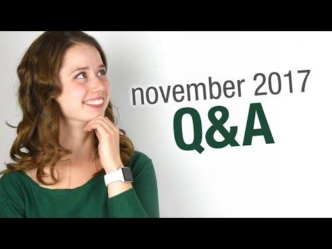 November Q&A