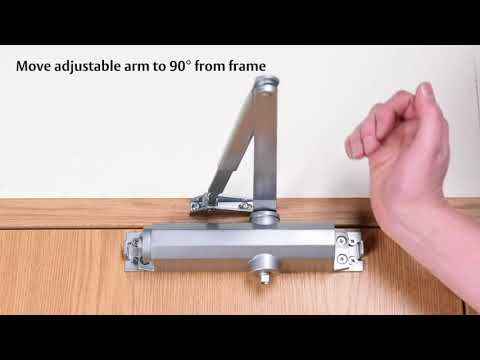 Insight Security - tried, tested and trusted products - Installing the Union Retro V Door Closer