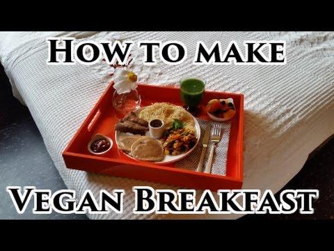 VEGAN BREAKFAST IN BED   Mr & Mrs Vegan