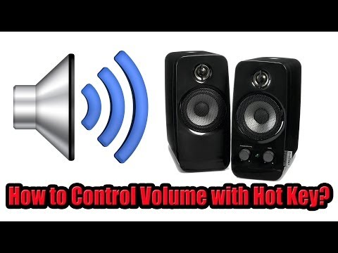 How to Increase Decrease Volume with Keyboard?