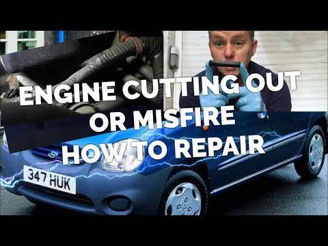 """Engine Cutting out or """"Misfiring"""" HT Lead Faulty How To Repair No New Parts"""