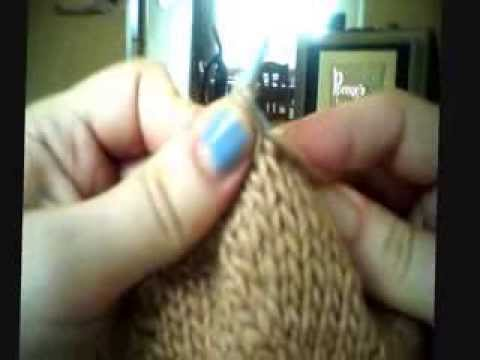 M1P knitting right side
