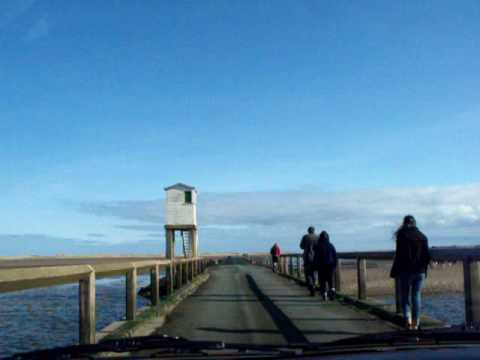 Crossing to holy island