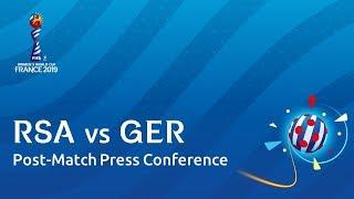 RSA v. GER - Post-Match Press Conference