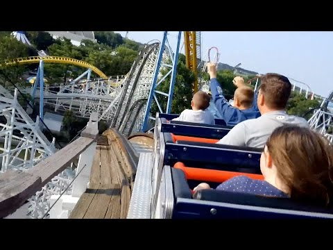 Taking a Ride on The Comet Roller Coaster POV at Hersheypark