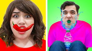 I DARE YOU CHALLENGES | CHALLENGE YOUR FRIENDS TO THESE FUNNY PRANKS