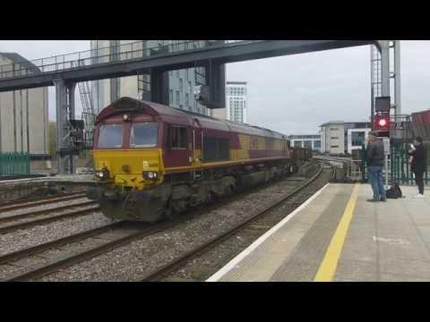 Cardiff Central trains April 20th 2017