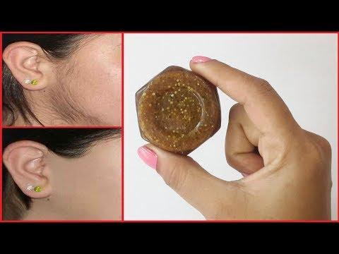 HOMEMADE HAIR REMOVAL SOAP   100 % NATURAL   अनचाहे बालों से हमेशा के लिए छुटकारा पाए