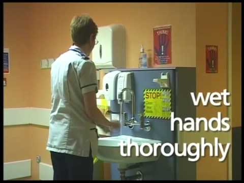 A staff guide to hand hygiene