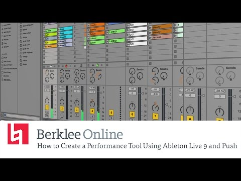 How to Create a Performance Tool Using Ableton Live 9 and Push