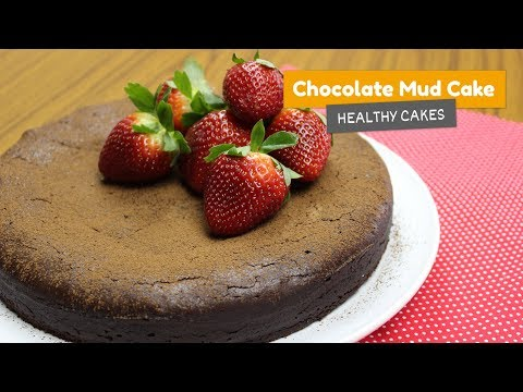 SUPER RICH flourless chocolate MUD CAKE • Healthy cakes #5