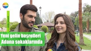 Download Yeni Gelin başrolleri Adana sokaklarında Video