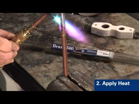 How to Braze Copper to Steel with Handy One®