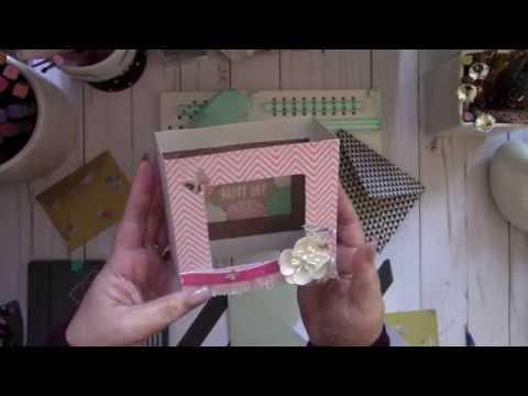 WRMK Frame Punch Board ~ Shadow Box Cards