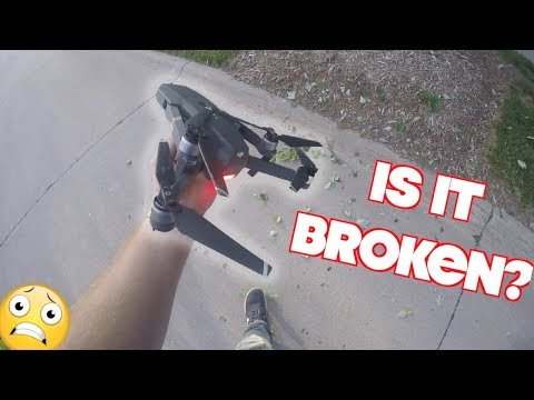 CRASHED MY BRAND NEW $1000 DRONE!