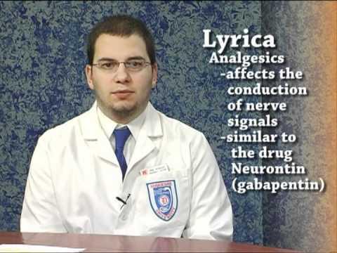 Lyrica (pregabalin) - Know Your Drug