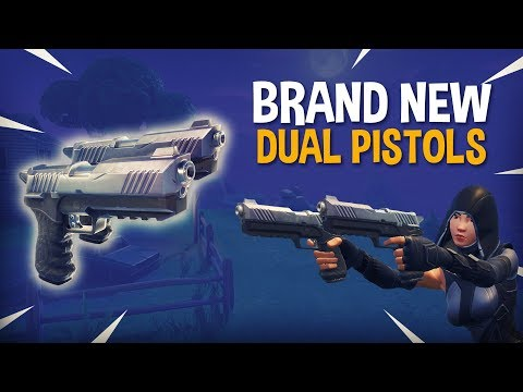 *Brand New* Dual Pistols!! - Fortnite Battle Royale Gameplay - Ninja & FearItSelf