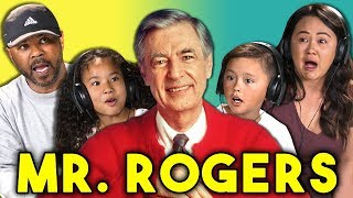 PARENTS/KIDS REACT TO MR. ROGERS (Won