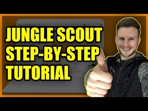 Amazon FBA UK Product Research Jungle Scout Tutorial (Step By Step)