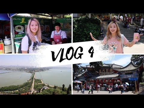 Life in China: VLOG 4 (strolling Dianchi Lake and hiking Xishan mountain )