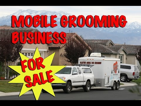 Mobile Grooming Business For Sale, SoCal - REDUCED
