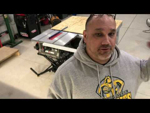 DIY Table Saw Out Feed Table Part 2