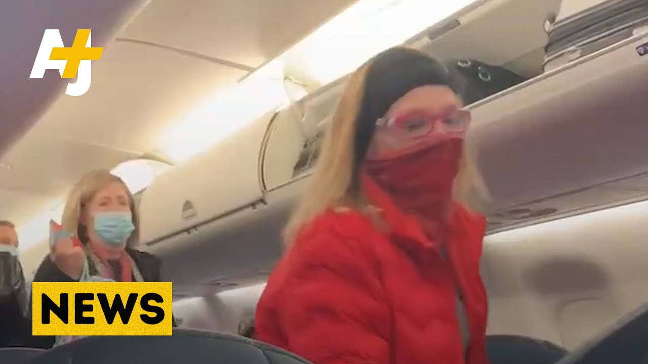 Passengers Cheer As Trump Supporters Kicked Off Plane After Capitol Riot