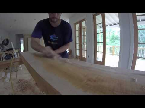 Building a Floating Mantel