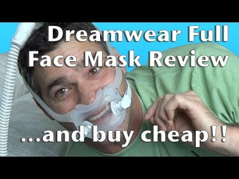 Dreamwear Full Face Mask Review and Buy Cheap!!  Philips Respironics