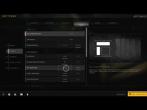 How to Enable Ally Health Bars in Black Ops 4