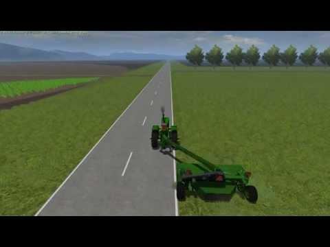 First Pass Of Hay Cutting-Farming Simulator 2013