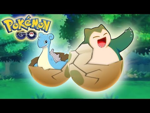 HOW TO GET SNORLAX AND LAPRAS! Pokemon GO Egg Hatching Guide Tips and Tricks! (Pokemon GO)